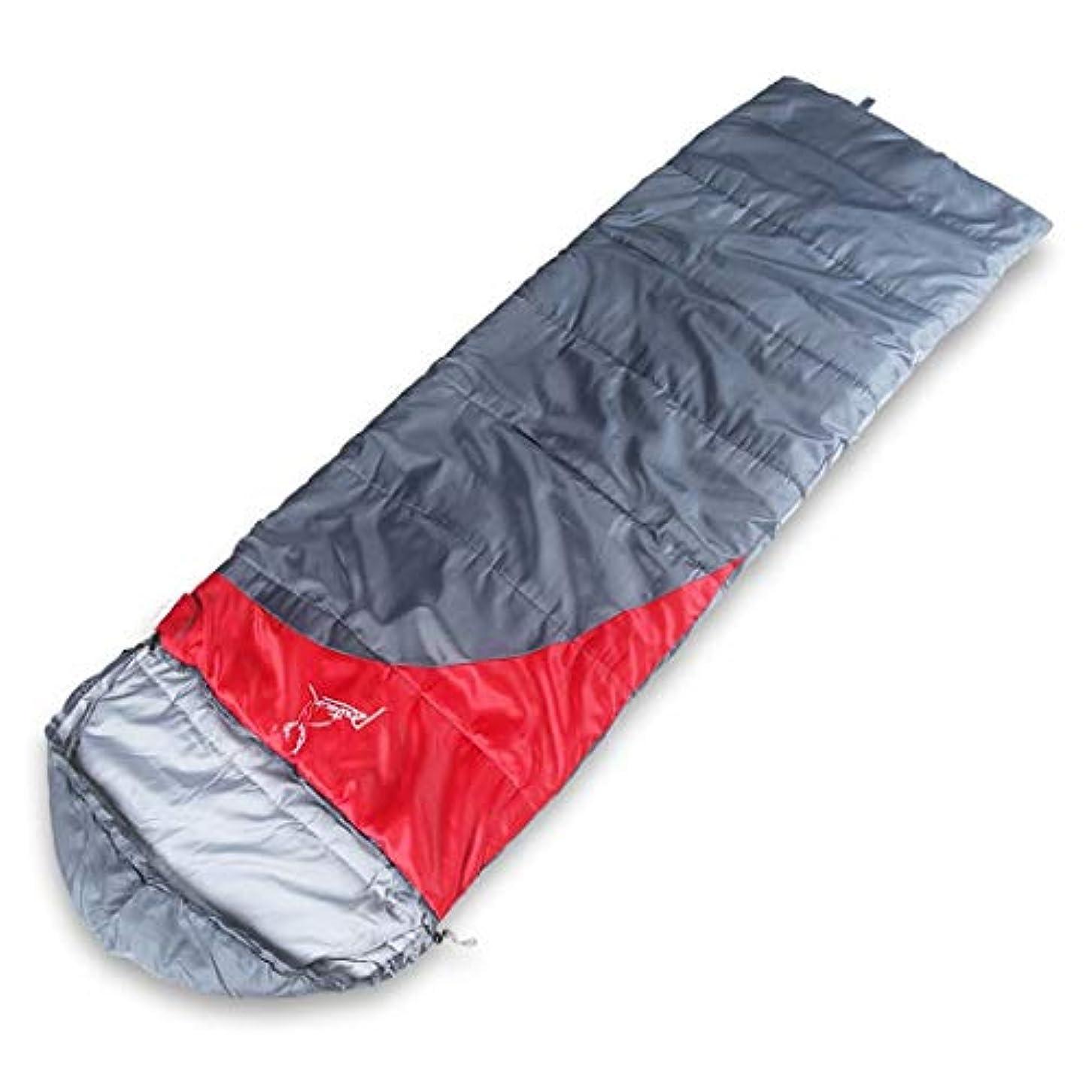 マイコン影軽寝袋、暖かい天候および軽量の防水は大人の旅行および屋外の活動のために大きい