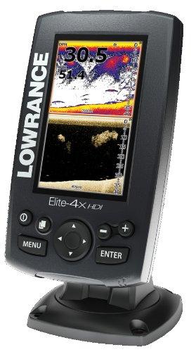 LOWRANCE(ローランス) Elite-4X HDI 4.3インチ 83/200kHz 魚群探知機【並行輸入品】