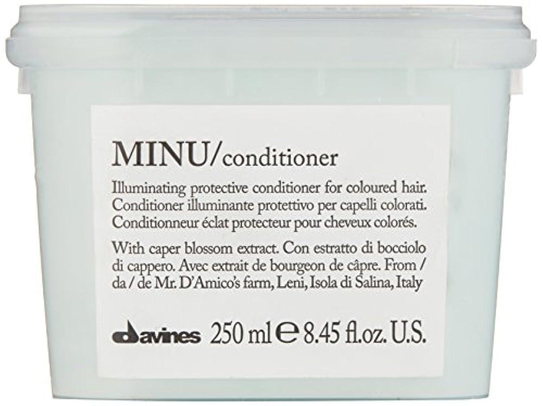 多年生ガラスインタラクションダヴィネス Minu Conditioner Illuminating Protective Conditioner (For Coloured Hair) 250ml/8.45oz並行輸入品