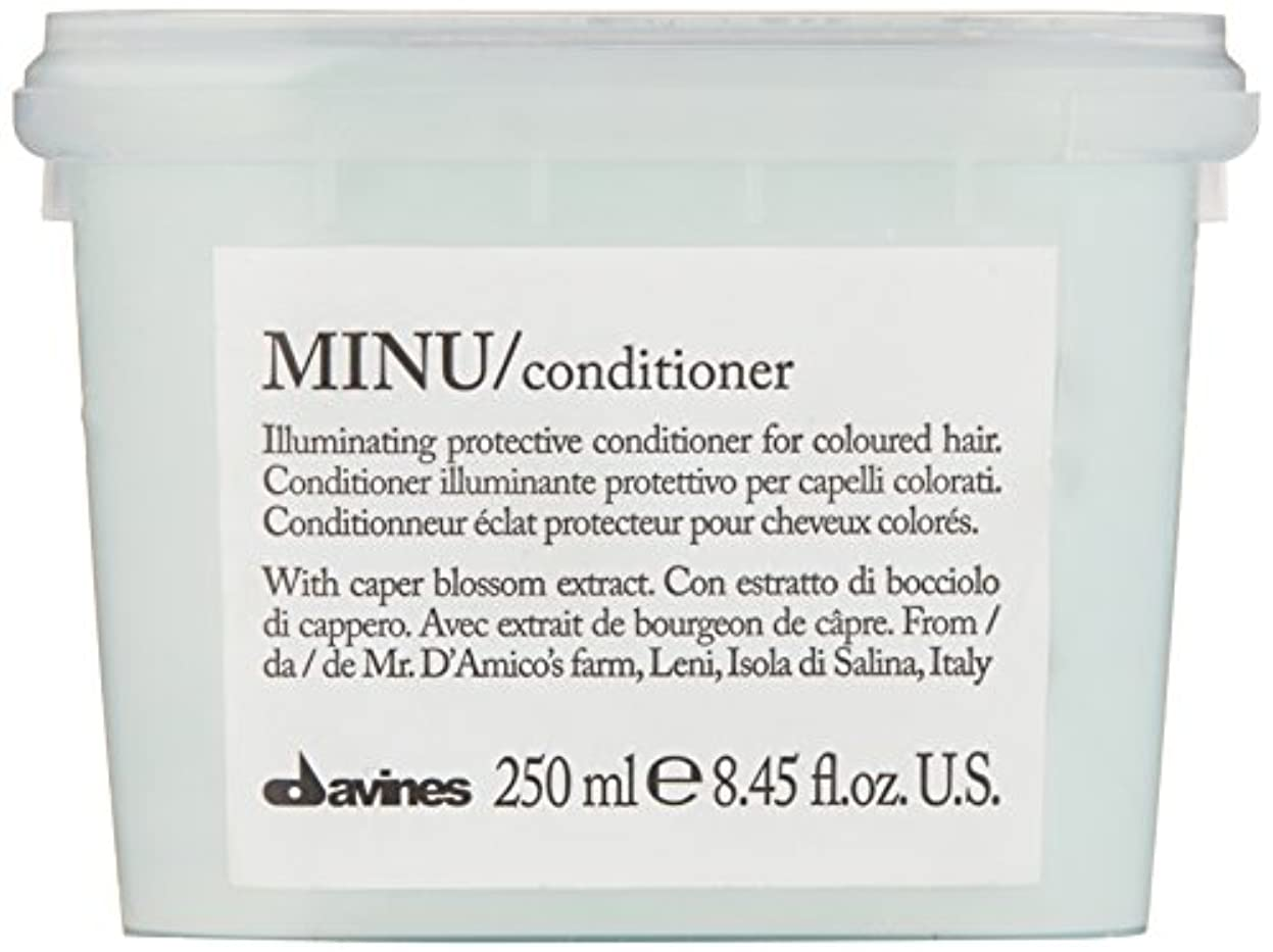 ナイロン振幅に渡ってダヴィネス Minu Conditioner Illuminating Protective Conditioner (For Coloured Hair) 250ml/8.45oz並行輸入品