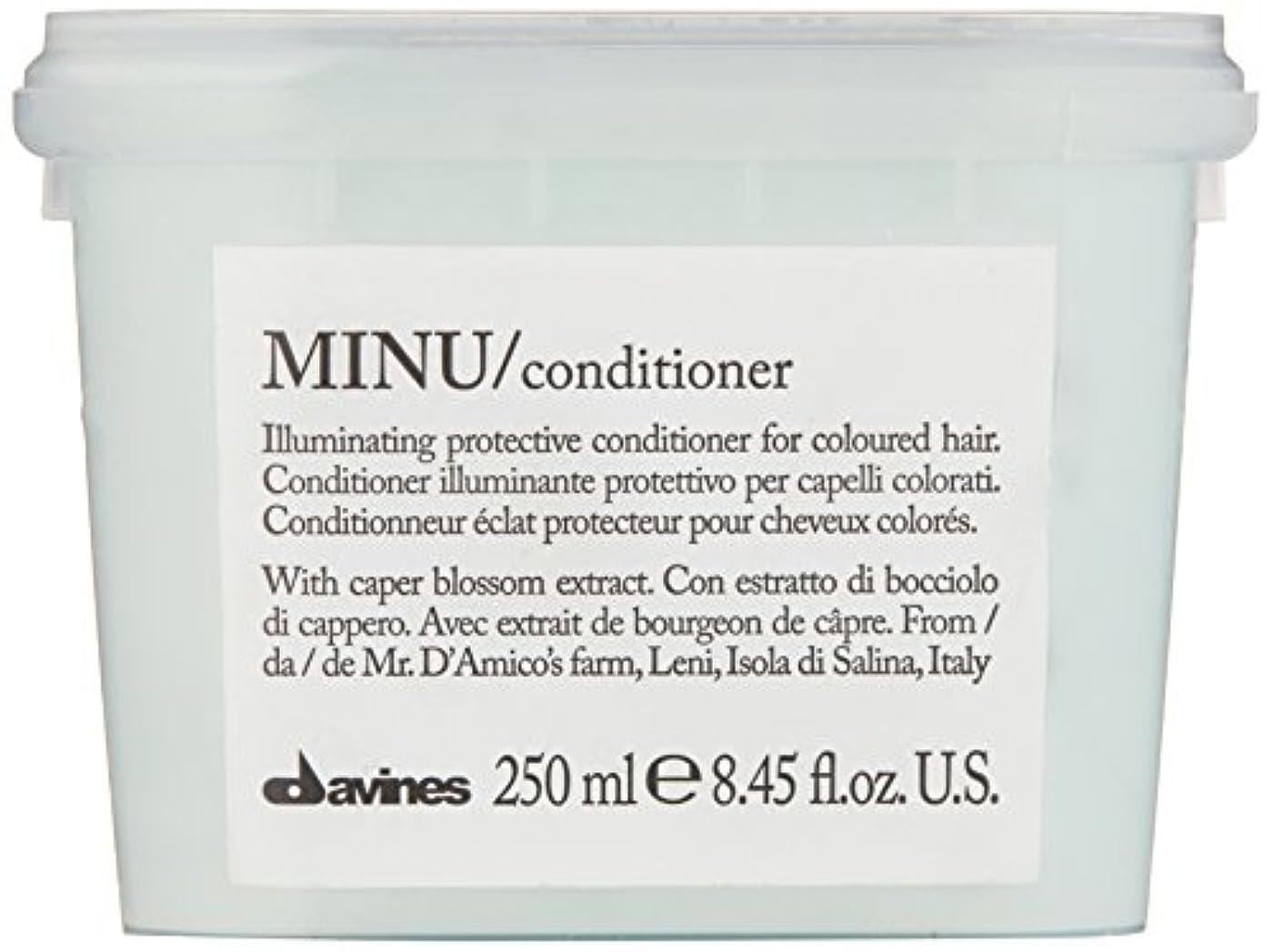 噂ダース輪郭ダヴィネス Minu Conditioner Illuminating Protective Conditioner (For Coloured Hair) 250ml/8.45oz並行輸入品
