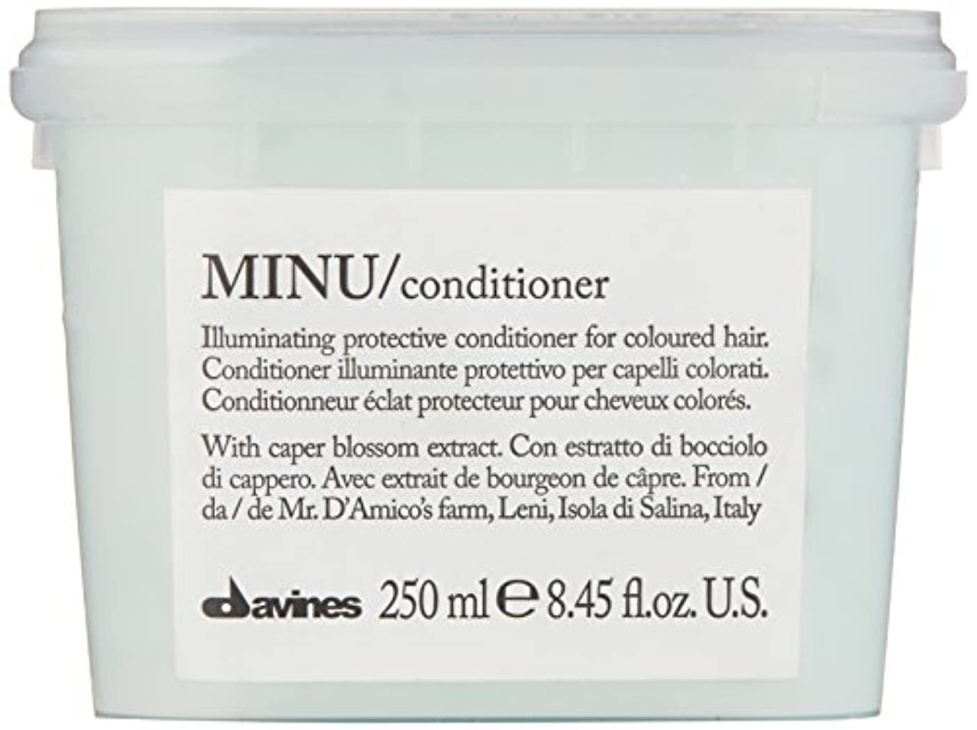 上昇処方すずめダヴィネス Minu Conditioner Illuminating Protective Conditioner (For Coloured Hair) 250ml/8.45oz並行輸入品