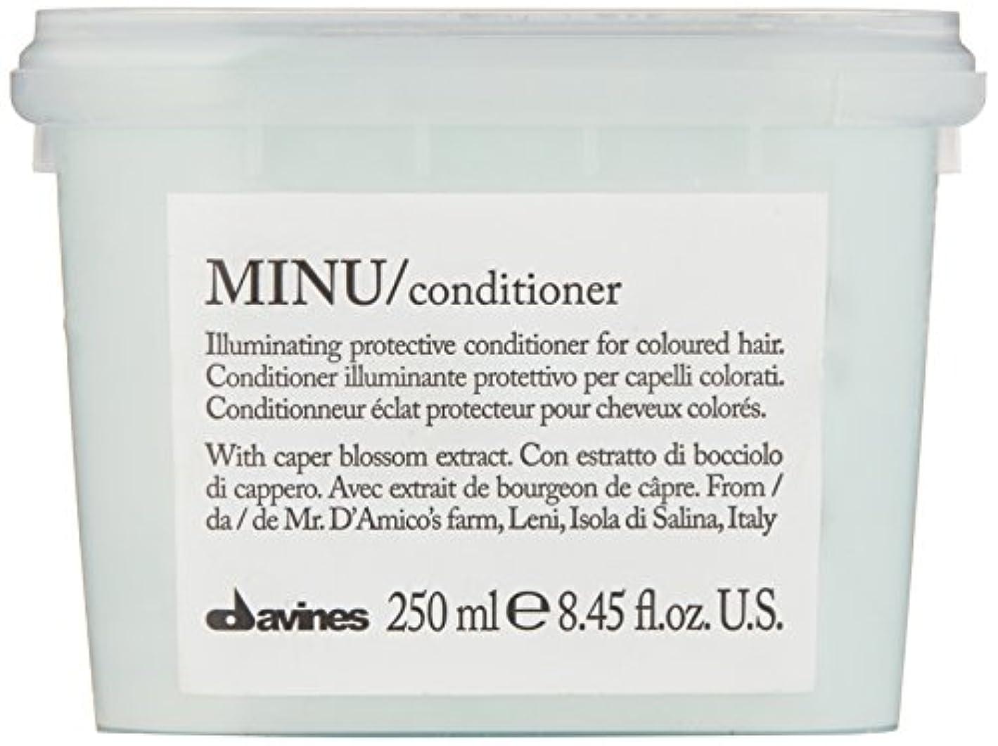 薬局現在スタッフダヴィネス Minu Conditioner Illuminating Protective Conditioner (For Coloured Hair) 250ml/8.45oz並行輸入品