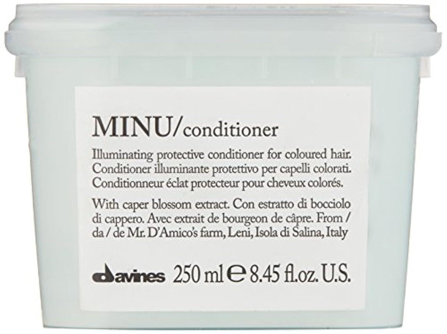 ダンス容量完了ダヴィネス Minu Conditioner Illuminating Protective Conditioner (For Coloured Hair) 250ml/8.45oz並行輸入品
