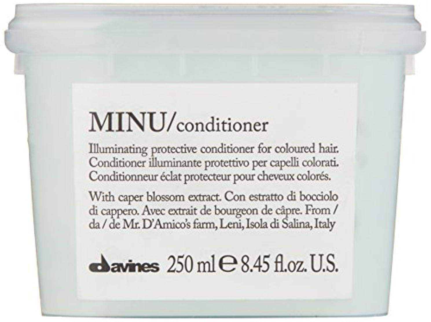 抑圧する本気振幅ダヴィネス Minu Conditioner Illuminating Protective Conditioner (For Coloured Hair) 250ml/8.45oz並行輸入品