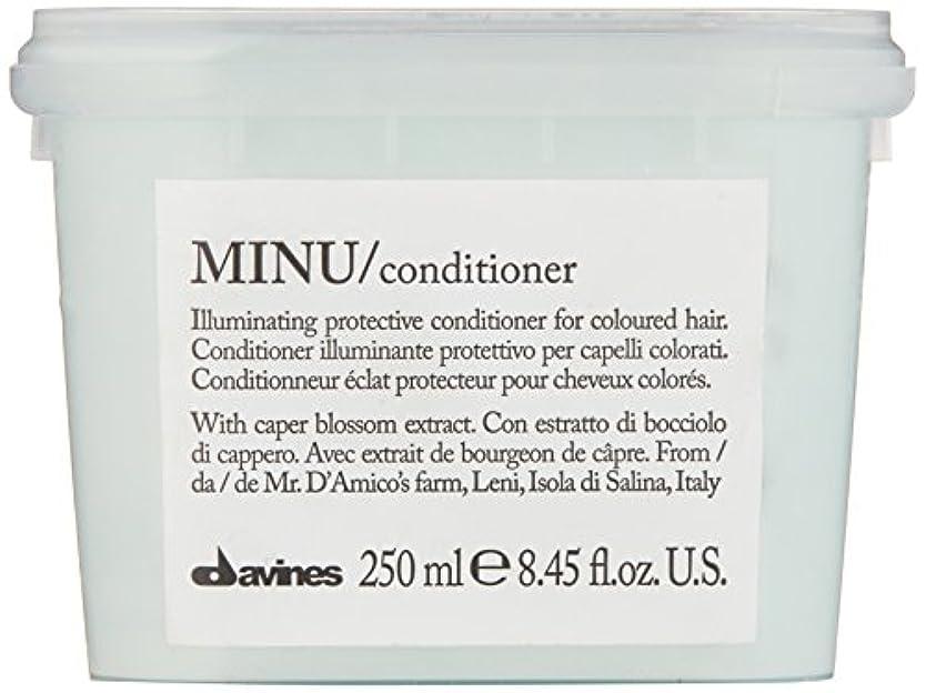 区わずかな埋めるダヴィネス Minu Conditioner Illuminating Protective Conditioner (For Coloured Hair) 250ml/8.45oz並行輸入品