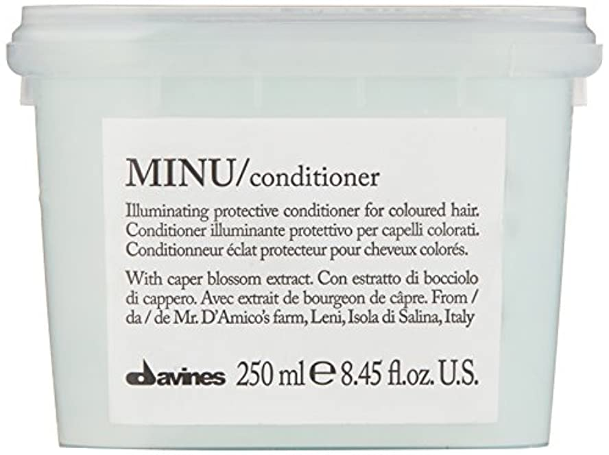 パーフェルビッド実用的時ダヴィネス Minu Conditioner Illuminating Protective Conditioner (For Coloured Hair) 250ml/8.45oz並行輸入品