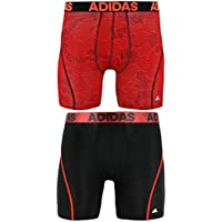 adidas Men's Sport Performance Climacool Boxer Underwear (2 Pack)