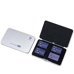 Digio2 メモリースティクDuoケース(防磁機能に優れたメタル素材)シルバー MCC-308