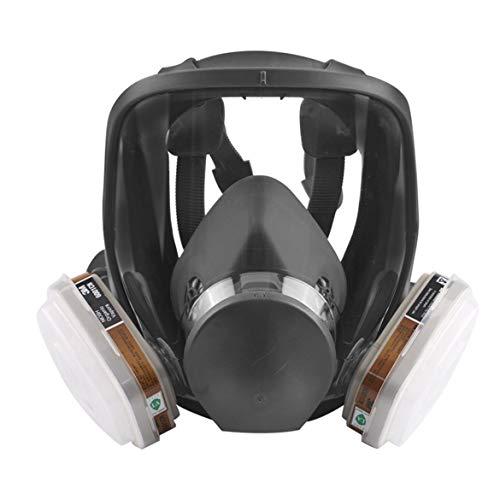 ダルキーオリジナル3M 6800マスクマスクブランド保護6800/6001フィッター付き有機ガスに対するマスクマスク(ホワイト)