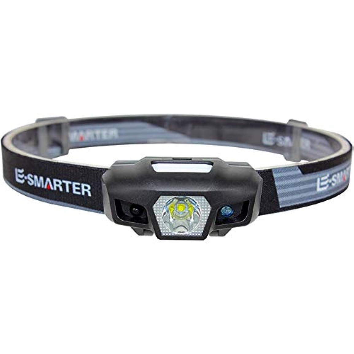 年最小保守可能ヘッドライト,多機能誘導スーパーブライトキャンプ防水釣りミニヘッドライト