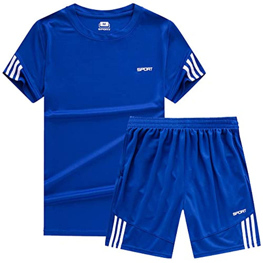 管理します米国嵐[ココチエ] スポーツウェア メンズ 半袖 短パン 上下 tシャツ 大きめ セットアップ 部屋着 夏
