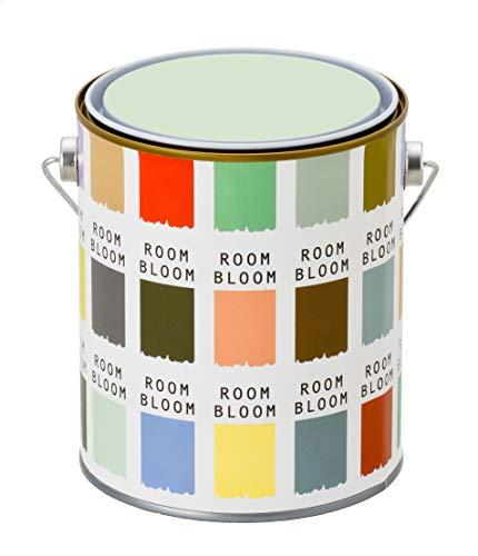 水性ペンキ(室内塗料) ROOMBLOOMMatte 1kg カラー:wind of savanna(グリーン 緑 くすんだ淡いグリーン)