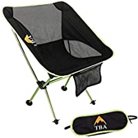 [TinyBigAdventure] [Lectica Camping Chair – キャンプ椅子 Ultralight Strength With Oxford Weave – Folding and Compact – Take Comfort With You Anywhere – Perfect For Camp, Hiking, Backpacking] (並行輸入品)