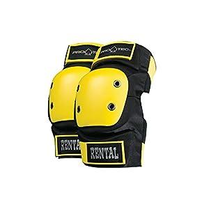 PRO-TEC(プロテック) RENTAL GEAR ELBOW (レンタルギア エルボー 肘) パッド スケートボード RENTAL BLACKカラー 【正規輸入品】 XLサイズ 141101206 ブラック S,M,L,XL