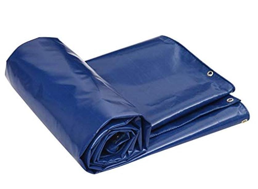 実装する肉明らかにターポリン ターポリン、防水頑丈なタフ、アイテムのカバーに適して、庭の装飾、屋外キャンプ、キャンプテント、マルチサイズオプション、ブルー 庭のテント (Size : 7*5M)
