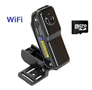 超小型WiFi見守りカメラ(スマホだけで簡単に設定してアクセス)。ビデオ&音声で見守り