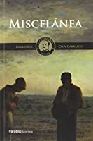 Miscelánea : Ensayos y artículos de crítica literaria y viajes
