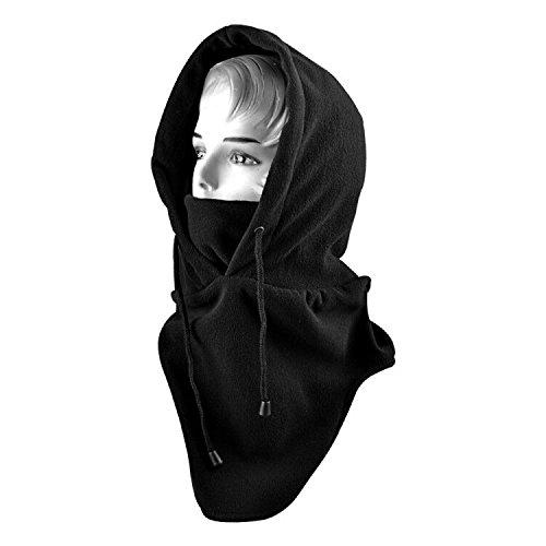 SHiZAK マスク 防寒フリースマスク フード 厚型 目だ...