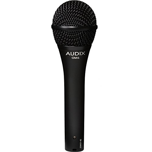 AUDIX ボーカル向け ハイパーカーディオイド ダイナミックマイク OM6【国内正規品】