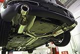 BMW MINI R55クラブマン クーパーS オールステンレスマフラー テール単品(2本出し) -