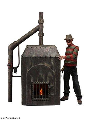 エルム街の悪夢 フレディ・クルーガー ファーネス 焼却炉 7インチ アクションフィギュア ジオラマ