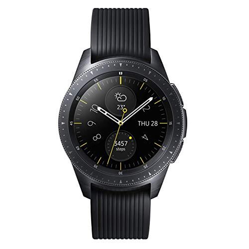 『Galaxy Watch 42mm ミッドナイトブラック【Galaxy純正 国内正規品】 Samsung スマートウォッチ iOS/Android対応 SM-R81010118JP』のトップ画像