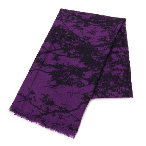 (マリメッコ) Marimekko 39961 TUULI SCALF ストール/スカーフ 490/purple/black [並行輸入品]