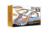 Max Flex Combo 300 R/C ライトトレーステクノロジー 暗闇で光る 柔軟なトラックシステム 2 1:64スケールリモートコントロールカー