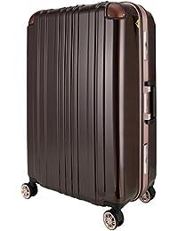 スーツケース キャリーバック キャリーケース 無料受託手荷物 中型・大型 M・L サイズ 5日~1週間以上 ダブルキャスター メーカー1年修理保証 LEGEND WALKER レジェンドウォーカー 5122 フレームタイプ…