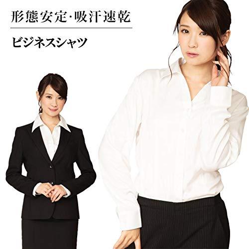 【サイズ:Lサイズ】形態安定 レディースシャツ ビジネスシャ...