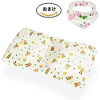 Yoisentaku ベビーまくら こども用枕 赤ちゃん枕 向き癖防止枕 むきぐせ防止クッション 絶壁頭 斜頭 寝ハゲ対策 寝返り防止 寝姿を矯正 快眠 頭の形が良くなる 汗取り 通気まくら 男女兼用(100%品質保証) (茶色)