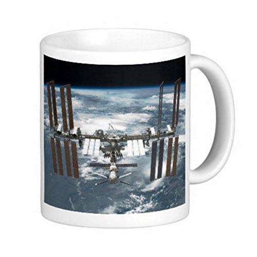 国際宇宙ステーション( ISS )のマグカップ:フォトマグ*(宇宙シリーズ) (B)