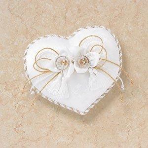 ハートの和風リングピロー「花結び」手作りキット