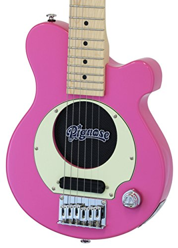 【今ならヘッドホン・プレゼント!】PIGNOSE / PGG-200 PK ピンク -メイプル指板- アンプ内蔵ギターの定番!ピグノーズ
