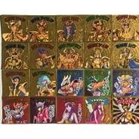 聖闘士星矢マンチョコ ~黄金聖闘士編~ アニメコレクションシール 全20種類 フルコンプ セット
