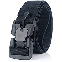Meister.R Tactical Rigger Belt - Magnetic Quick-Release Buckle | Nylon Canvas Breathable Belt 1.5""