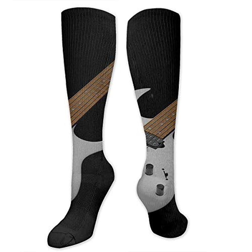 正確な倉庫木曜日靴下,ストッキング,野生のジョーカー,実際,秋の本質,冬必須,サマーウェア&RBXAA Colorful Guitar.jpg Socks Women's Winter Cotton Long Tube Socks Knee...