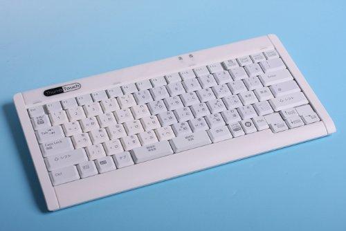 富士通コンポーネント 薄形軽量の親指シフトキーボード「Thumb Touch(サムタッチ)」FKB7628-801