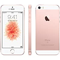 au版 Apple iPhone SE 64GB ローズゴールド MLXQ2J/A 白ロム