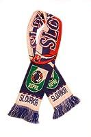スロバキアNational Soccer Team  プレミアムファンスカーフ 米国から出荷 アクリルニットスカーフ