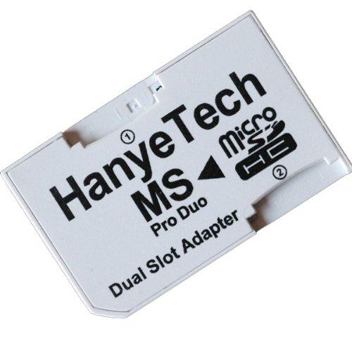 改良したHanyeTech デュアルスロット ProDuo変換アダプタ バルク品