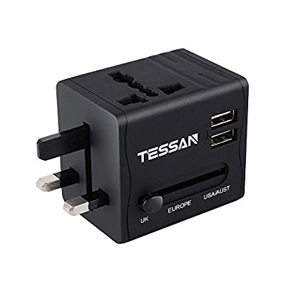 TESSAN Travel Adapter