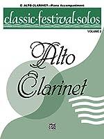 Classic Festival Solos, E-flat Alto Clarinet, Piano Acc.