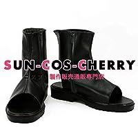【サイズ選択可】コスプレ靴 ブーツ K-1848 Fate/Grand Order フェイト/グランドオーダー セイバー saber 沖田総司 女性24CM