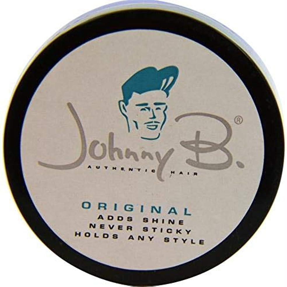 ペフ泥強風Johnny B - オリジナル ポマード-ブリリアント シャイン - 63.8g(2.25オンス)