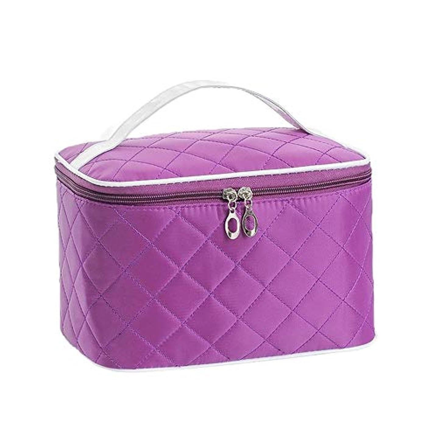 ラブアセ最初はVenenos ハンドル収納袋が付いている化粧箱の大きい宇宙旅行化粧品の箱のポータブル化粧品袋