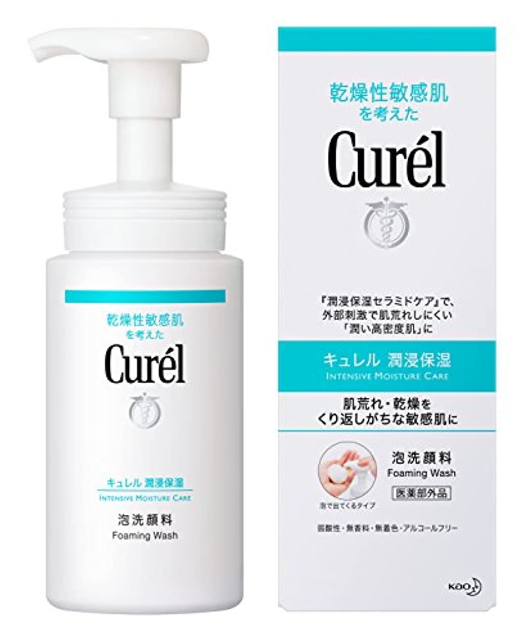ハプニング誠意詳細なキュレル 泡洗顔料 150ml