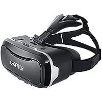 3D VR ゴーグル CHOETECH VR メガネ iPhone / Android / スマホ 3D ヘッドセット 超3D映像効果 仮想現実 映画/ゲームを楽しめる 他3.5~6インチスマートフォン対応