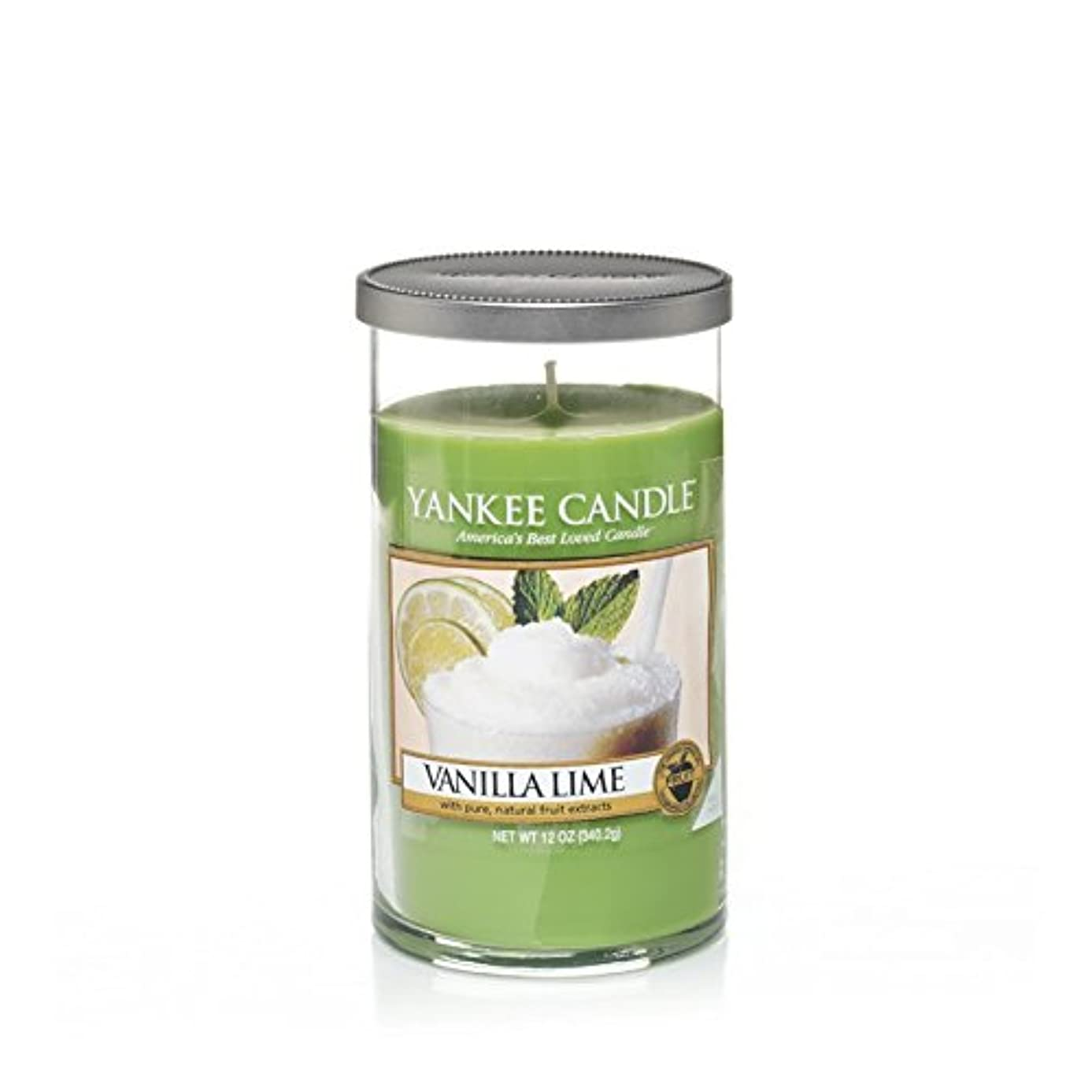 はさみジョージスティーブンソン狂乱Yankee Candles Medium Pillar Candle - Vanilla Lime (Pack of 2) - ヤンキーキャンドルメディアピラーキャンドル - バニラライム (x2) [並行輸入品]